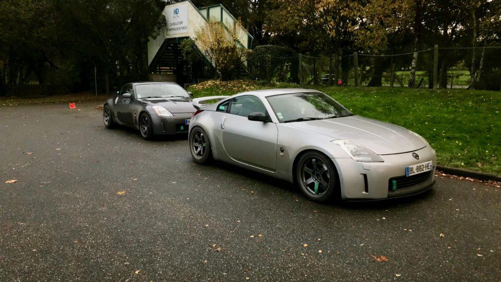Parking 350Z Pegase