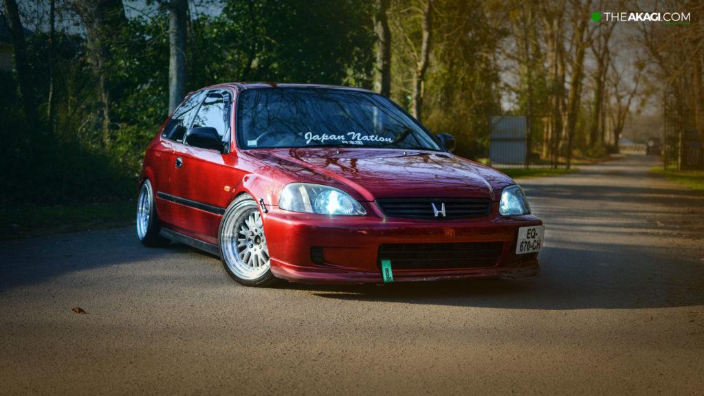 THEAKAGI   Honda civic EJ9