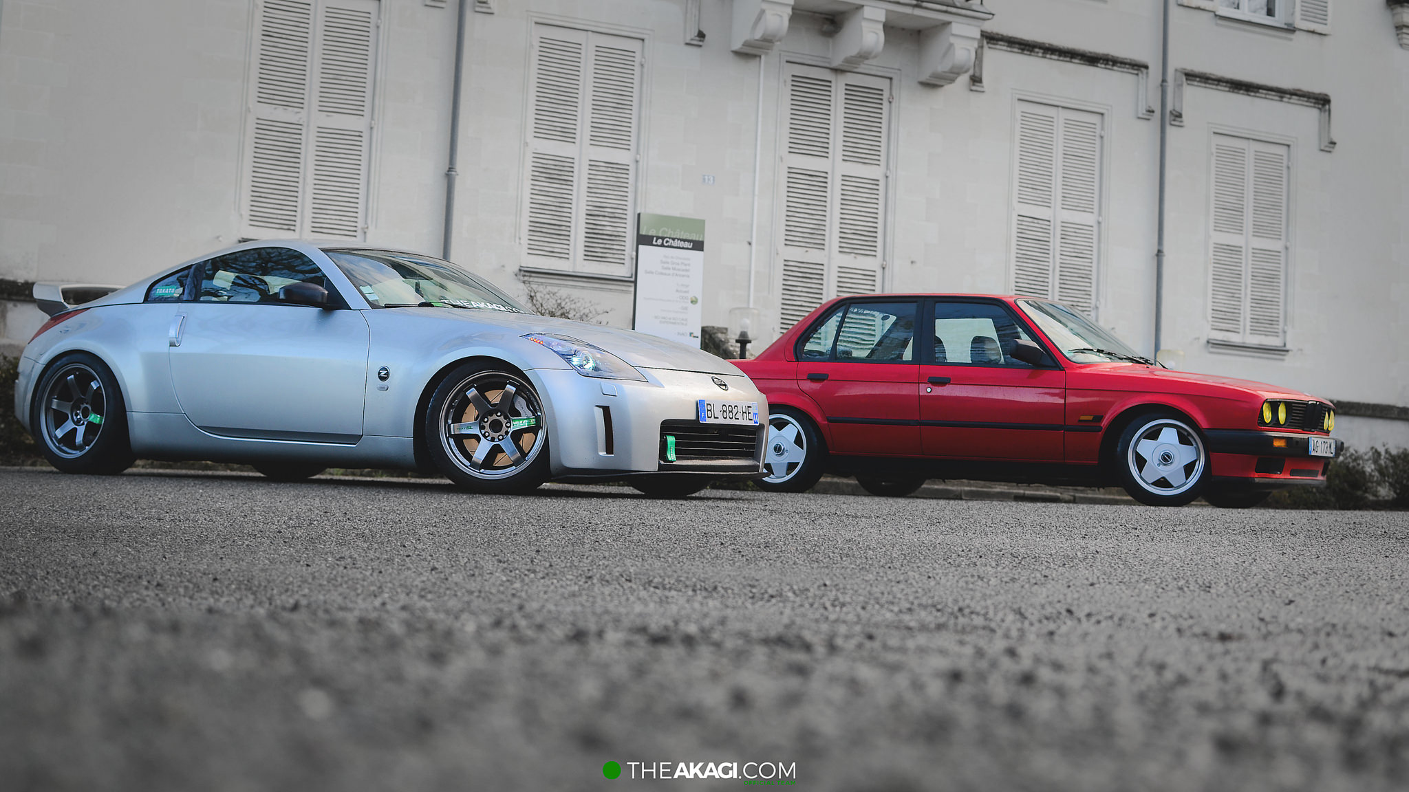 THEAKAGI | Nissan 350z & BMW E30