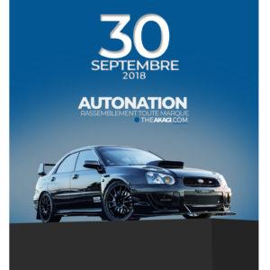 Cadre AutoNation Subaru