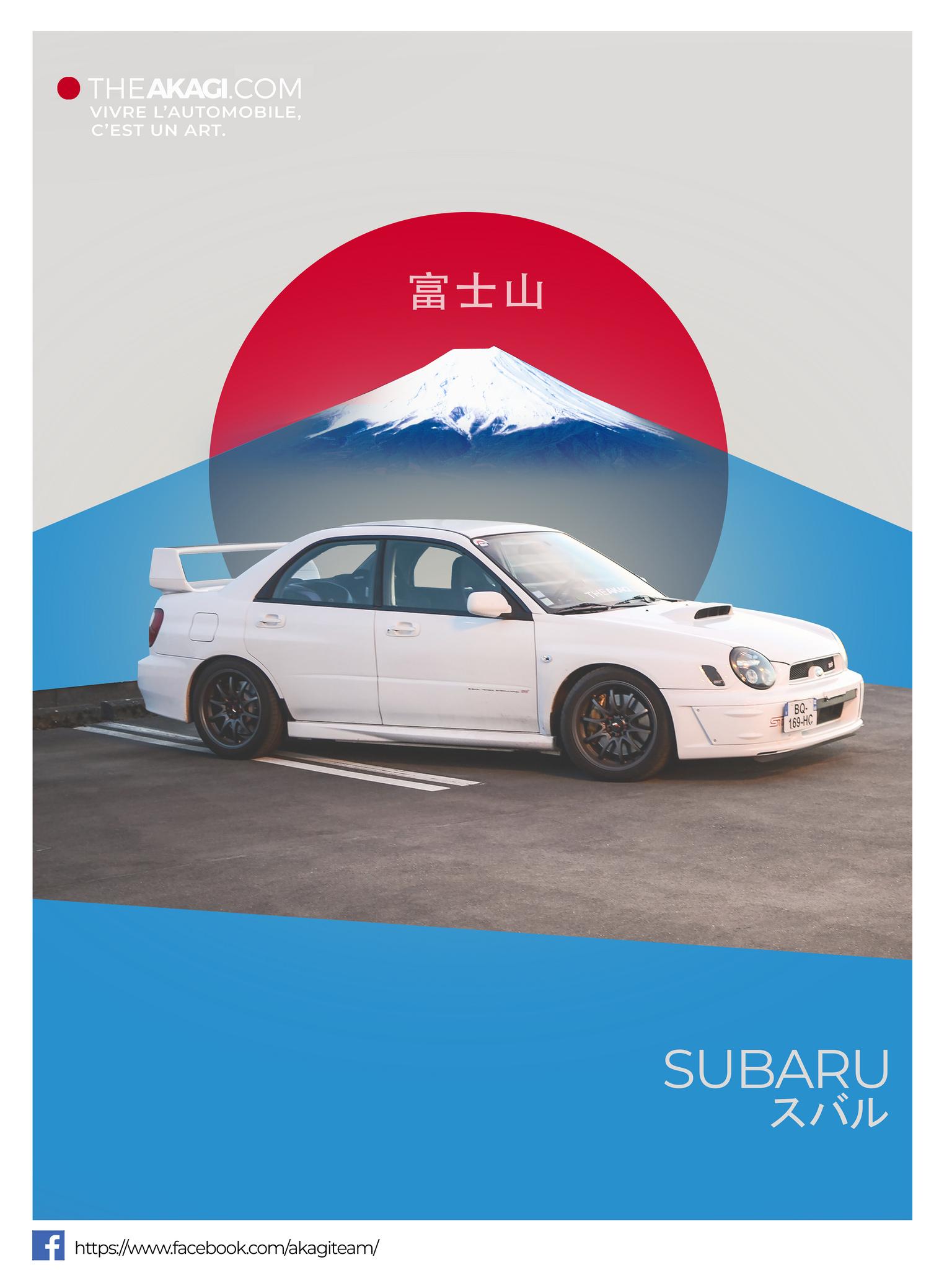 Cadre Subaru Japon