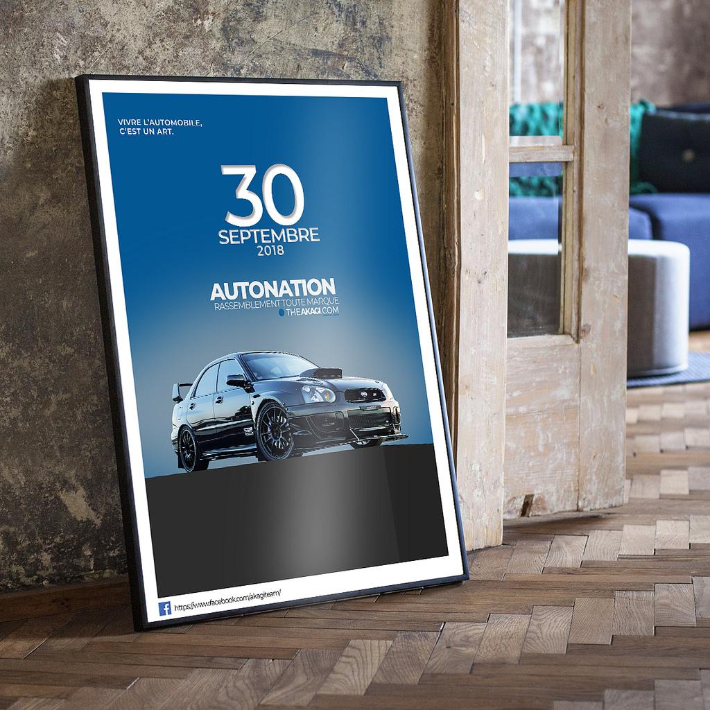 Affiche Subaru