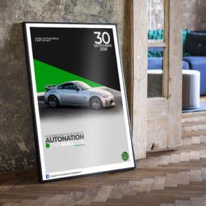 Affiche THEAKAGI 350Z