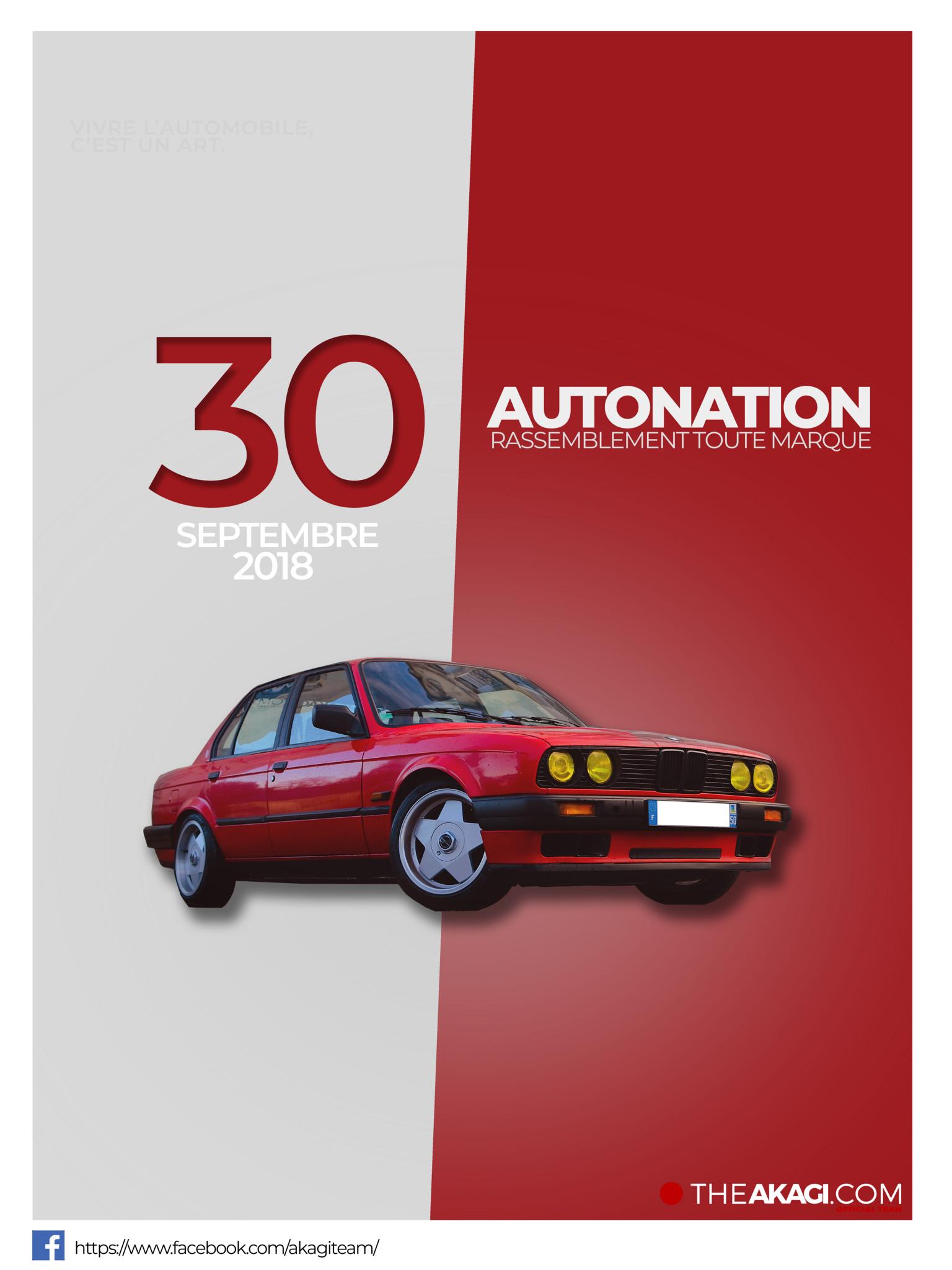 Cadre AutoNation BMW E30