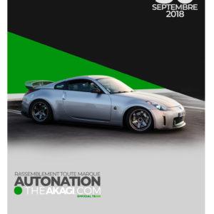 Cadre AutoNation 350z