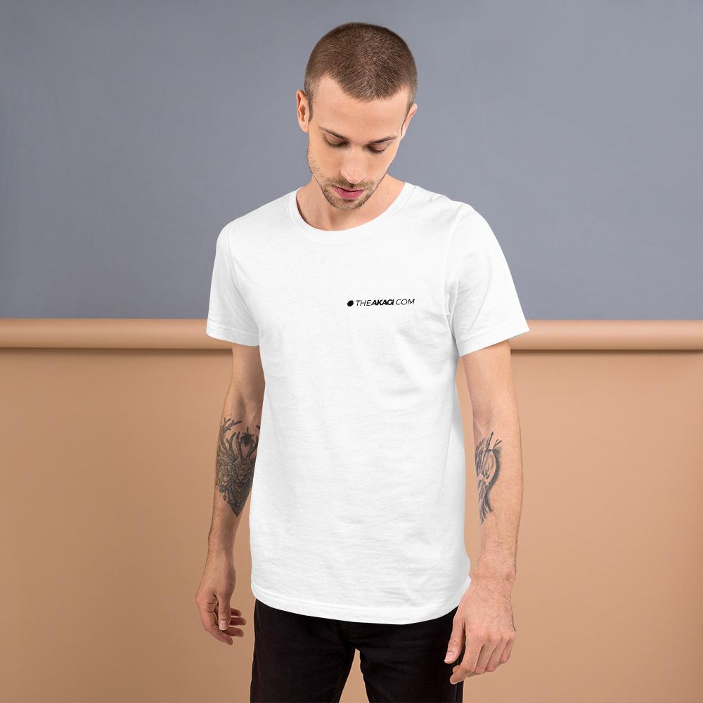 T-shirt à Manches Courtes THEAKAGI.COM