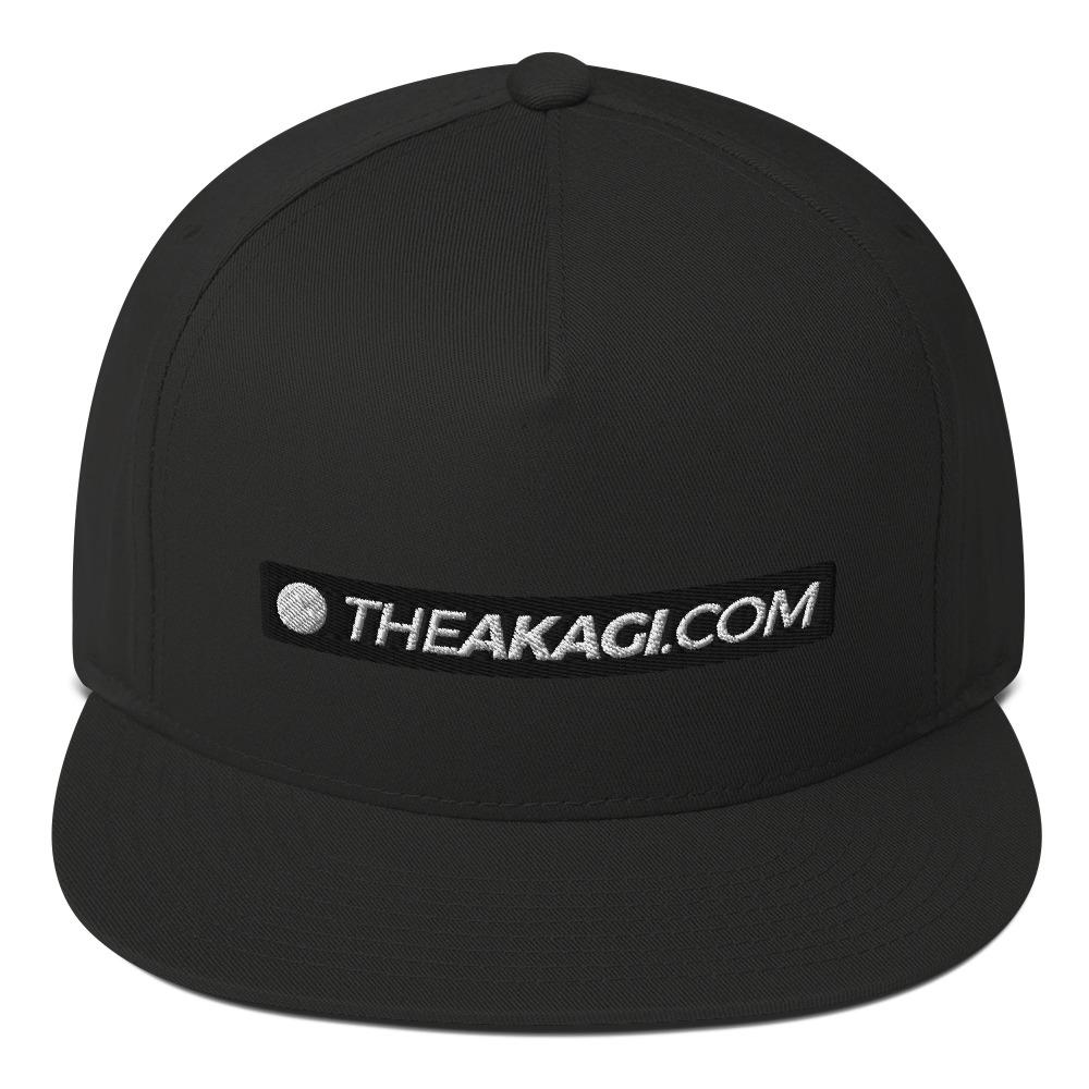 Casquette à Visière Plate THEAKAGI.COM