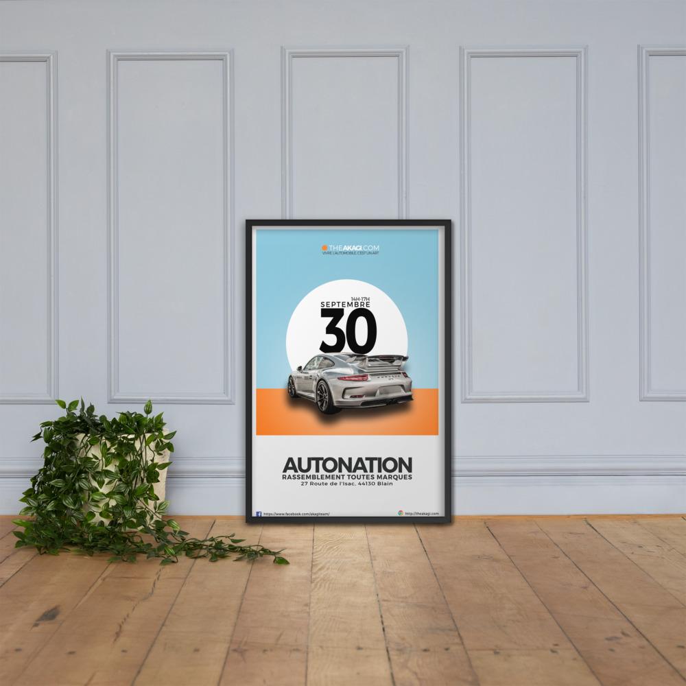 Affiche Encadrée AUTONATION 2019