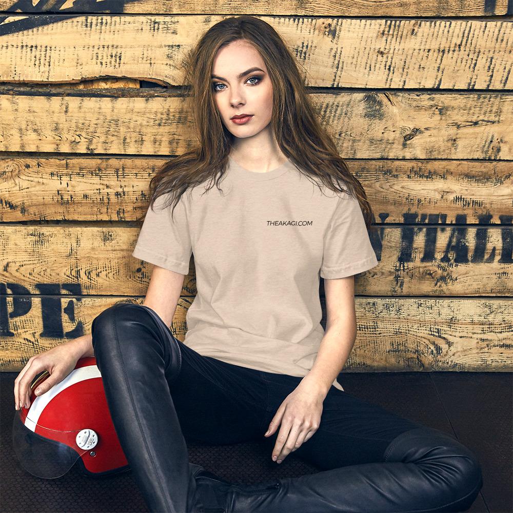 T-shirt Femme à Manches Courtes THEAKAGI.COM