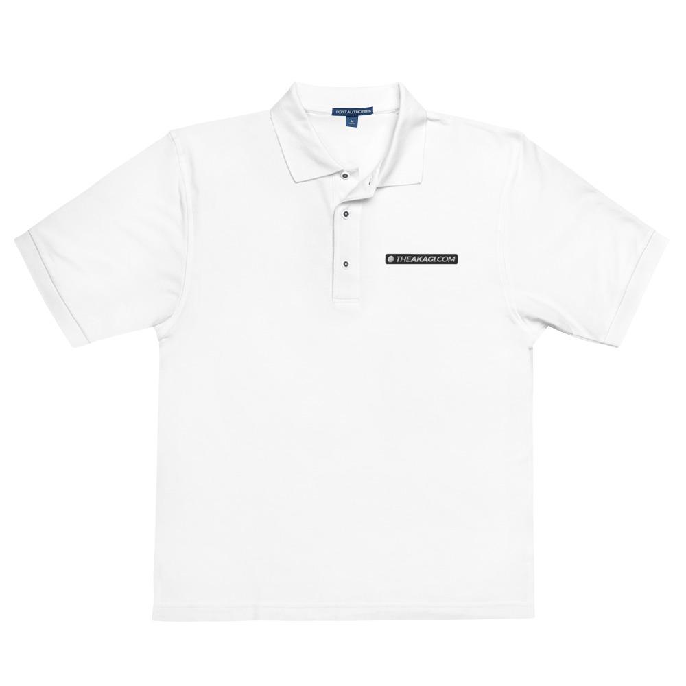 Polo Brodé Homme THEAKAGI.COM