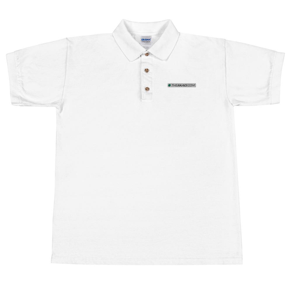 Polo Brodé Pour Homme THEAKAGI.COM